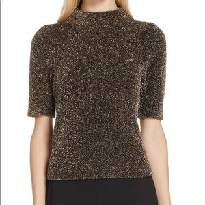 Kate Spade New York Glitter Sweater Top